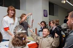 vetenskap serbia för 12 festival Arkivbilder