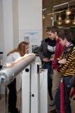 vetenskap serbia för 8 festival Arkivbild