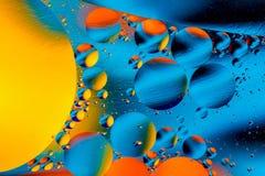 Vetenskaplig bild av cellmembranet Makro upp av vätskevikter Abstrakt molekylatomsctructure vatten för bubblor för bakgrundsbad b Arkivfoto