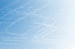 Vetenskaplig framtida teknologi För affärspresentation Reklamblad, Arkivbilder
