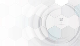 Vetenskaplig framtida teknologi För affärspresentation Reklamblad, stock illustrationer
