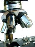 vetenskapligt mikroskop Arkivbild