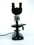 vetenskapligt mikroskop Arkivfoton