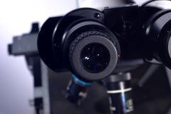 vetenskapligt mikroskop Royaltyfri Fotografi