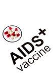 Vetenskapsforskning vid den muntliga vaccinera kapseln för HJÄLPMEDEL, HIV Arkivfoton