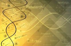 Vetenskapsforskningbakgrund Arkivfoto