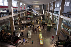 Vetenskapsmuseum i London Arkivbild