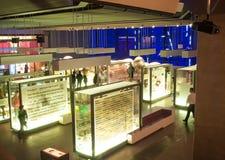Vetenskapsmuseum, London, UK Arkivfoto
