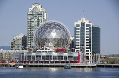 Vetenskapsvärld Vancouver Kanada Arkivbilder
