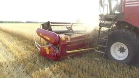 Veteplockningshearers Vete skördar jordbruk plockning Arkivfoton
