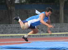 Veteran athletes. Compete in the national championships in a stadium in the city of Solo, Central Java, Indonesia Royalty Free Stock Image