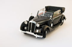 Veteran car. Black color made in 1930s Royalty Free Stock Image