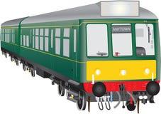 Veteran Diesel Train Royalty Free Stock Images
