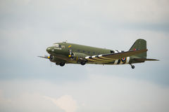 Veteran Douglas DC3 'Kwicherbichen' Royalty Free Stock Photography