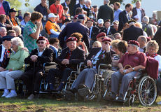 veteran för arnhem stridcommemoration Arkivfoton