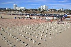 Veteran för fred på Santa Monica Royaltyfri Foto