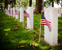 veteran för kyrkogård s u kriger Arkivfoton