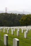 veteran för kyrkogårddagnational Arkivbilder