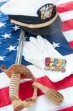 veteran för medaljer ii kriger världen Royaltyfri Fotografi