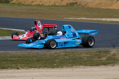 Veteran Gurney Eagle F5000 car at speed Royalty Free Stock Images