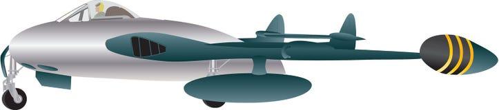 Veteran Jet Fighter Stock Image