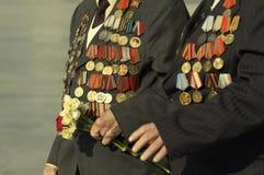 veteran kriger Fotografering för Bildbyråer