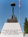 Veteran minnes- kyrkogård, Fernley, Nevada royaltyfri bild