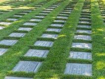 Veteran minnes- kyrkogård, Fernley, Nevada Royaltyfri Fotografi
