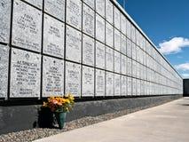 Veteran minnes- kyrkogård, Fernley, Nevada Royaltyfria Foton