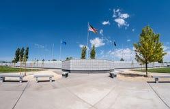 Veteran minnes- kyrkogård, Fernley, Nevada Royaltyfria Bilder
