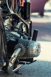 Veteran motorbike Stock Image