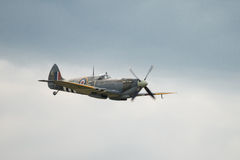 Veteran RAF Spitfire fighter Royalty Free Stock Images