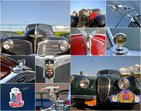 Veteran rally collage Royalty Free Stock Photography