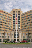Veteran's Administration Hospital. Front entrance in Albany, NY Stock Images