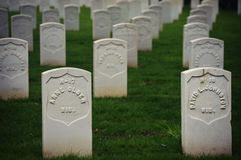Veteran's Cemetery Royalty Free Stock Images