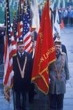 Veteran's Day Ceremony Royalty Free Stock Photo