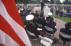 Veteran's Day Ceremony Royalty Free Stock Image