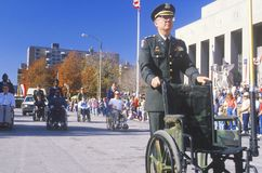Veteran's Day Parade Stock Images