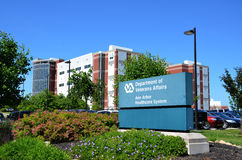 Veteran's hospital, Ann Arbor, MI. ANN ARBOR, MI - JUNE 17: The Department of Veterans Affairs has hired 1600 mental health staff at all its hospitals, including Royalty Free Stock Images