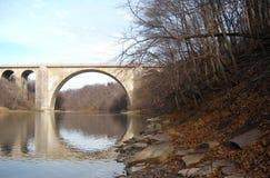 Veteran's Memorial Bridge. Veteran's  Memorial Bridge Rochester NY Royalty Free Stock Photo