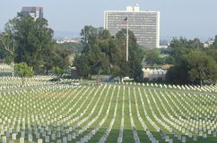 Veteran's National Cemetery Stock Images