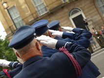 Veteran's Parade Royalty Free Stock Photography