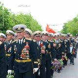 Veteran's parade May 9, 2010 Stock Photography
