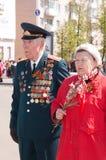 Veteran of the second world war Stock Photos