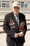 Veteran of the World War II Royalty Free Stock Images