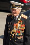 Veteran of the World War II Stock Image