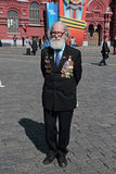 Veteran of the WWII Royalty Free Stock Images