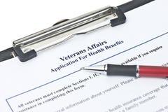 Veteran's Benefits Royalty Free Stock Image