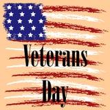 Veterandag i USA vektorn vektor illustrationer