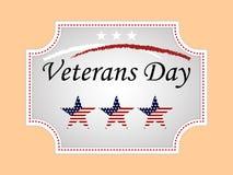 Veterandag i USA vektorn royaltyfri illustrationer